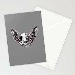 Shynx Half Skull Stationery Cards