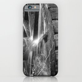 Grist Mill Water Wheel iPhone Case
