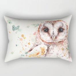Australian Barn Owl Rectangular Pillow