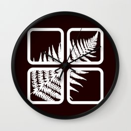 Fern Wall Clock