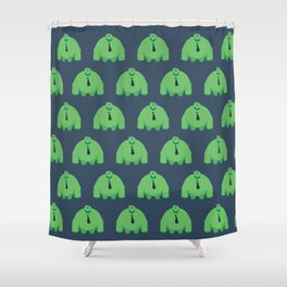 Ike Pattern Shower Curtain