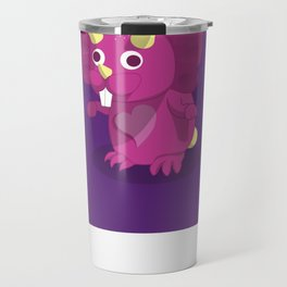 The Dino-zoo: Rabbit-saurus Travel Mug