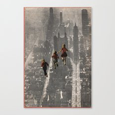RUN THE TOWN Canvas Print
