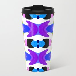 Abstract Daze - Painting Within The Lines Collection Travel Mug