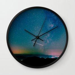 Desert Summer Milky Way Wall Clock