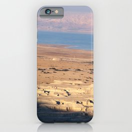 Dead Sea from Masada, Israel iPhone Case