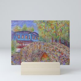 Eternal Stone Bridge Mini Art Print