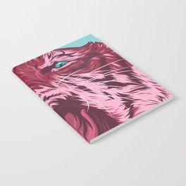 Magenta tiger Notebook
