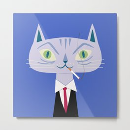 One Cool Cat Metal Print
