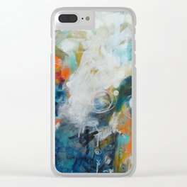 Under the Stars Clear iPhone Case