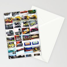 MovieRepliCars Poster Stationery Cards