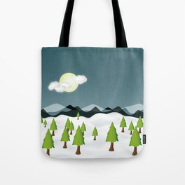 Midnight Isolation Tote Bag