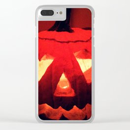 Jacko - the Lantern Clear iPhone Case