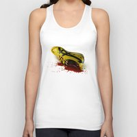 kill bill Tank Tops featuring KILL BILL onitsuka special by wrong planet