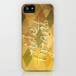 "TYRANT ""Vintage"" iPhone Case"
