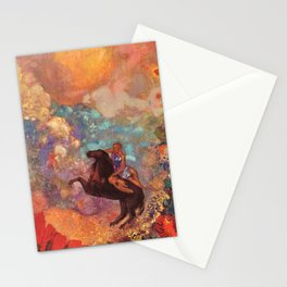 "Odilon Redon ""Muse on Pegasus"" Stationery Cards"
