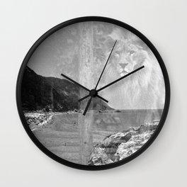 Top Lion Wall Clock