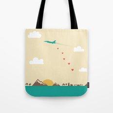 Love War Tote Bag