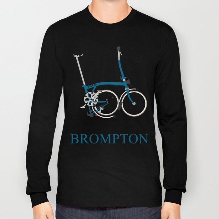 Brompton Bike Long Sleeve T-shirt