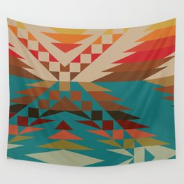 American Native Pattern No. 81 Wall Tapestry