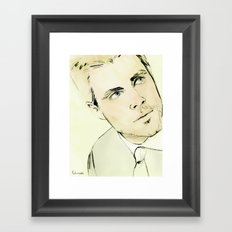 Arrow Portrait Series: Oliver Queen Framed Art Print