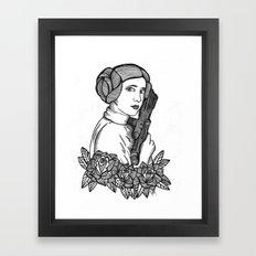 Ms. Leia Framed Art Print
