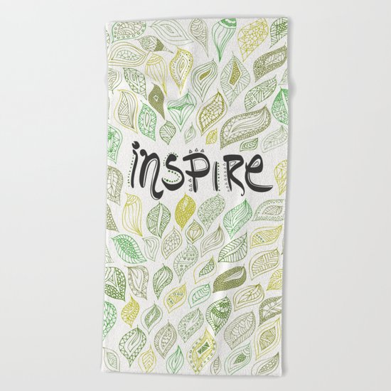 Inspire Beach Towel