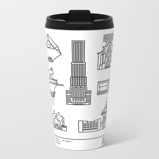 NNY Metal Travel Mug