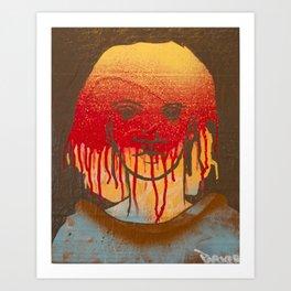 Passion Red Art Print