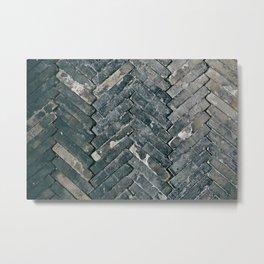 Brick Floors Metal Print