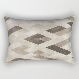 Abstract Pattern in Subtle Rectangular Pillow