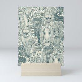 cryptid crowd pine pearl Mini Art Print