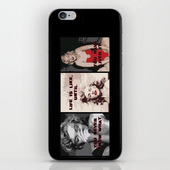 A Tribute to Marilyn Monroe iPhone & iPod Skin