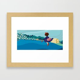 delivery! Framed Art Print