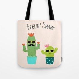 Feelin' Sharp Tote Bag
