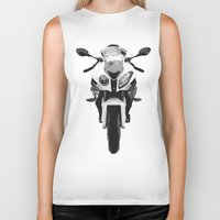 bmw Biker Tanks featuring BMW Motorcycle by SABIRO DESIGN