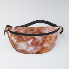 Sputnik Aragonite Crystal// Title: Peach Party Dress Fanny Pack