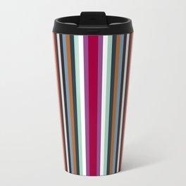 town stripe Travel Mug