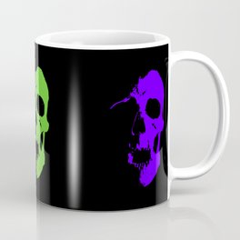 Skull 3x3 - Lime/Purple/Pink Coffee Mug