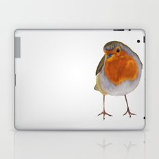 Winter Robin Laptop & iPad Skin