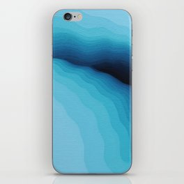 Cubed Glacier I iPhone Skin
