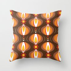 Oohladrop Brown Throw Pillow