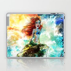 ~~ Someday I'll be part of your wooooorld~~  Laptop & iPad Skin
