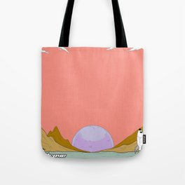 A Drove Sunset Tote Bag