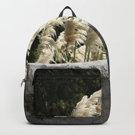 Flowering Pampas Grass Plumes Backpack