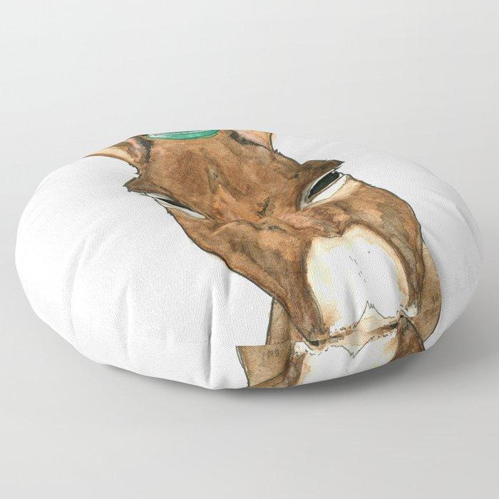 Ane au chapeau Floor Pillow