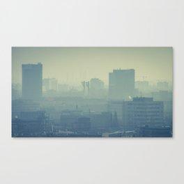 Hazy Bratislava Canvas Print