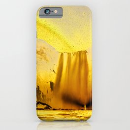 Magical Waterfall iPhone Case