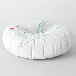 Birth Floor Pillow