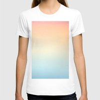 gradient T-shirts featuring Gradient Sun by Alexandra Str